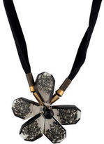 Marni Lucite Flower Necklace