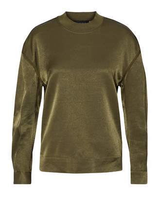 By Malene Birger Chiccis Ruched Satin Top