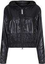 adidas by Stella McCartney Black Hi-Shine Windbreaker Jacket