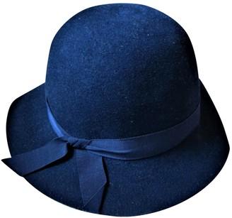 Christian Dior Blue Wool Hats