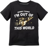 Carter's Graphic Tee (Toddler) - Black - 2T