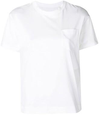 Sacai side zipped T-shirt