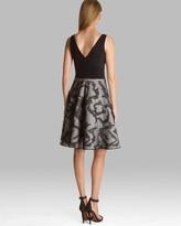 Halston Dress - Sleeveless V Neck