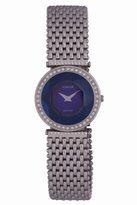 Jowissa Women's J5.022.M Crystal 42 Stainless Steel Blue Sunray Dial Mesh Bracelet Watch