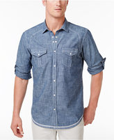 INC International Concepts Men's Denim Shirt, Created for Macy's