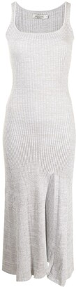 ANNA QUAN Jana ribbed-knit mid-length dress