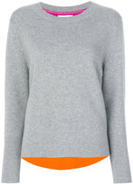 Chinti and Parker cashmere ribbed back sweater