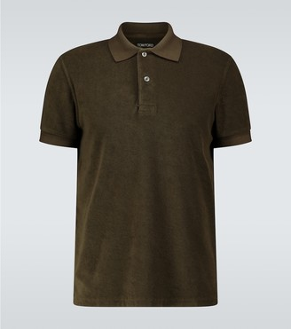 Tom Ford Short-sleeved towelling polo shirt