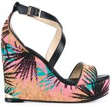 Jimmy Choo Portia 120 sandals - women - Cork/Leather - 41