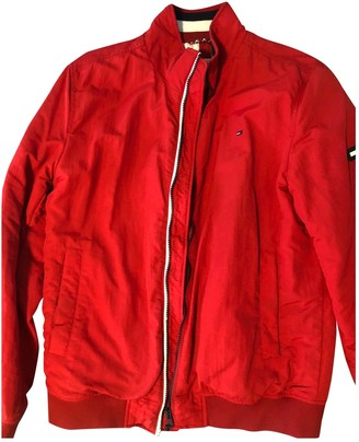 Tommy Jeans Red Cotton Jackets