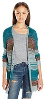Billabong Juniors Stripes Over You Cardigan Sweater