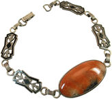 One Kings Lane Vintage Jugendstil Sterling & Jasper Bracelet
