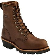 """Chippewa Men's 8"""" Waterproof Insulated Steel Toe EH 26341 Logger Boot"""
