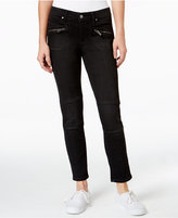 Calvin Klein Jeans Zip-Pocket Skinny Ankle Jeans