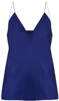 Haider Ackermann Nessos deep V-neck silk cami top