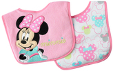 Disney Minnie Mouse Bib - Set of Two