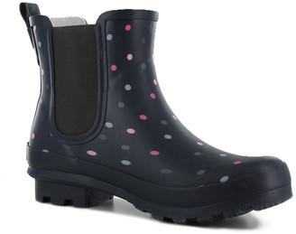 Western Chief Dazzling Dots Chelsea Rain Boot