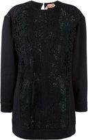 No.21 lace panel blouse