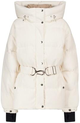 Cordova Mammoth cotton corduroy down ski jacket