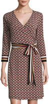 Laundry by Shelli Segal Printed Jersey Wrap Dress, Sienna