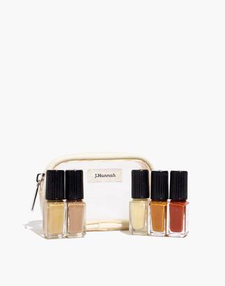Madewell J. Hannah Five-Pack Mini Nail Polish Kit