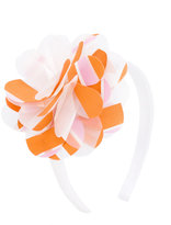 Il Gufo floral appliqué headband - kids - Cotton/Spandex/Elastane - One Size