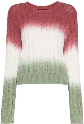 Sies Marjan Britta cotton cable knit jumper