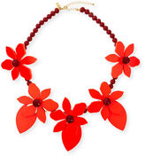 Kate Spade Lovely Lillies Statement Necklace
