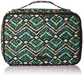 Vera Bradley Large Blush and Brush Makeup Case