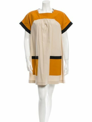 Proenza Schouler Colorblock Shift Dress w/ Tags