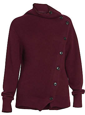 Isabel Marant Women's Chass Asymmetric Cashmere Cardigan