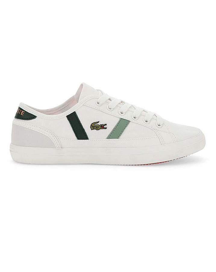 396451208 Lacoste Canvas Shoes Women - ShopStyle UK