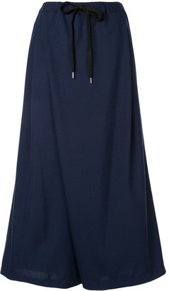 Marni Drawstring Waist Cropped Trousers