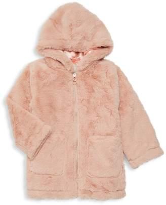 Urban Republic Little Girl's Hooded Faux Fur Jacket