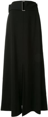 Taylor Counteract belted maxi skirt
