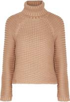 Michelle Mason Ribbed-knit turtleneck sweater