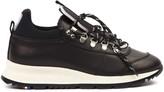 Philippe Model Black Leather Rossignol X Pm Veau Sneaker
