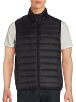 Saks Fifth Avenue Packable Sleeveless Puffer Vest