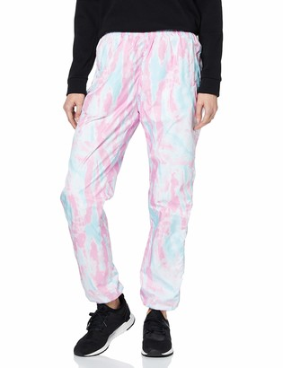 Urban Classics Women's Sport-Hose Ladies Tie Dye Track Pants Dress