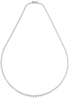 Carbon & Hyde Tennis Necklace in 14K White Gold | FWRD