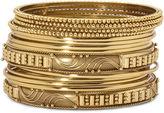 Bold Elements Mixit 14-pc. Gold-Tone Bangle Bracelet Set