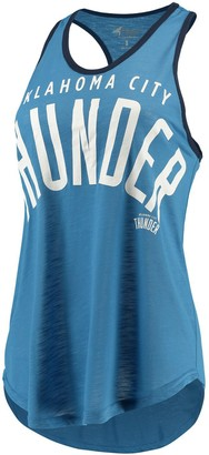Game Time Women's G-III 4Her by Carl Banks Blue Oklahoma City Thunder Tank Top