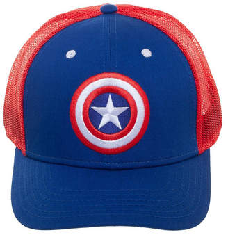 Bioworld Men's Baseball Caps - Captain America Trucker Hat