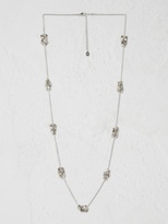 White Stuff Cluster sparkle necklace