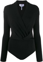 MSGM Wrap Front Knitted Body