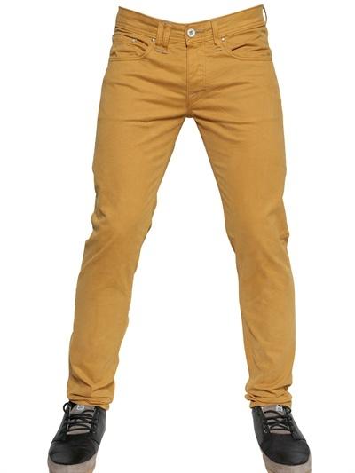 Cycle 17,5 Cm Gabardine Denim Skinny Jeans