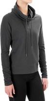 Steve Madden Open-Back Shirt - Funnel Neck, Long Sleeve (For Women)