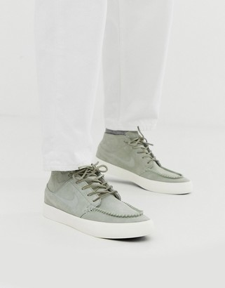 Nike Sb SB Crafted Zoom Janoski mid trainers in grey