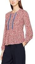 Les Petites Women's Floral Peps Long-Sleeved Top