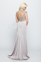 Milano Formals - Embellished High Neck Evening Gown E2119